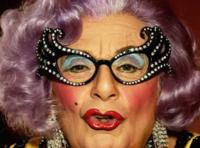 Dame Edna Kisses It Better